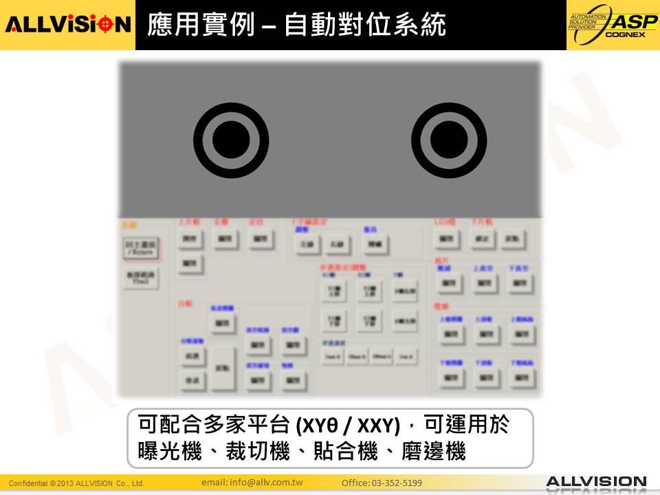 平台自動對位系統