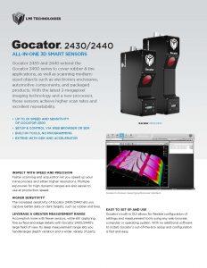 Gocator_2430&2440系列